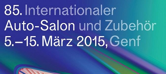 Auto-Salon Genf 2015 Teaserplakat