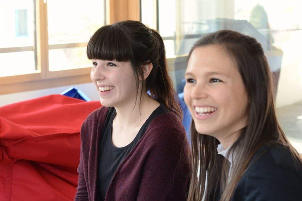 Stipendiatinnen zu Besuch im Büro_5