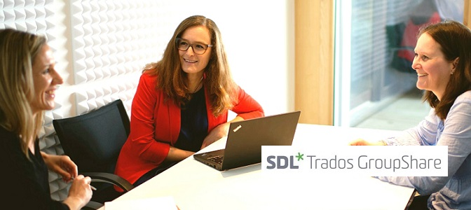 Diction is now using SDL Trados GroupShare 2020