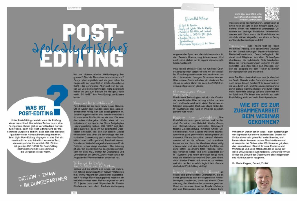 Blog_Auszug aus Magazin6_Post-Editing