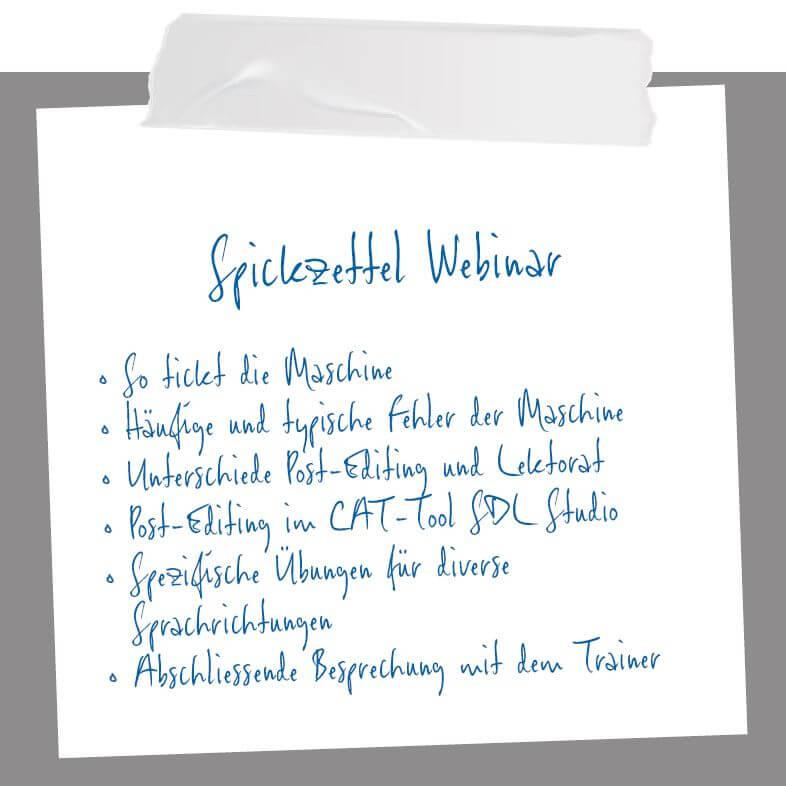 Blog_AuszugMagazin6_Spickzettel_Webinar Post-Editing