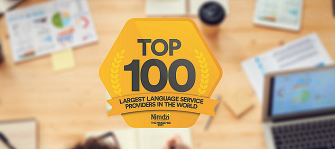The Nimdzi 100: Diction back among the top LSPs in 2021